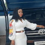 TRENDING NEWS - Wife Of Rev Obofour Flaunts Her Customized V8 With A Swag