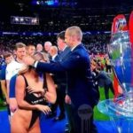 TRENDING NEWS - Kinsey Wolanski, the pitch invader who disrupted the Champions League final between Liverpool and Spurs last night, wanted to advertise her boyfriend's website.