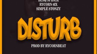 Blaq Spider - Disturb ft. Rycon 6ix X Simple Stonzy (Prod. By RyconBeat)